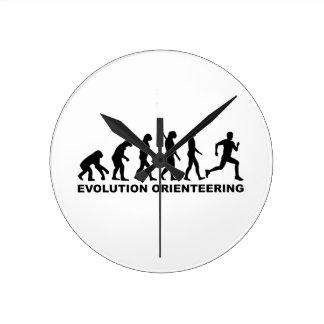 Evolution Orienteering Wall Clock