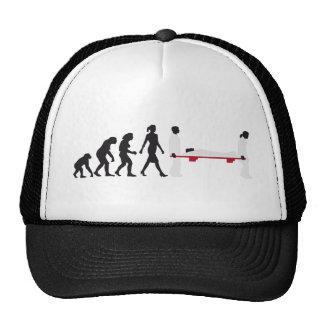 evolution paramedic trucker hat