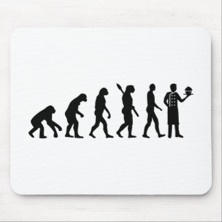 Evolution pastry chef mouse pad