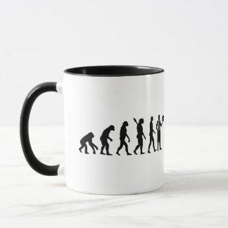 Evolution pastry chef mug