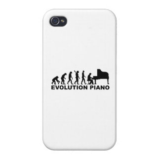 Evolution Piano iPhone 4 Cases