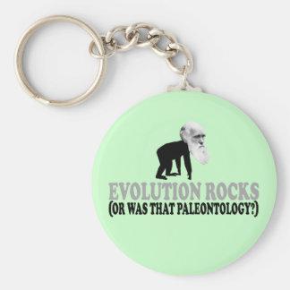 Evolution rocks keychain