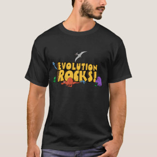 Evolution Rocks! shirt