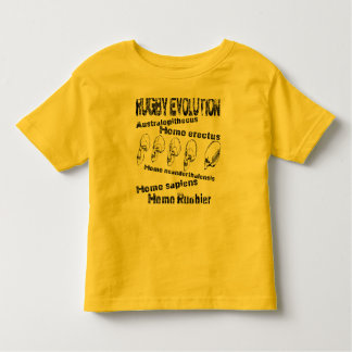 Evolution rugby toddler t-shirt