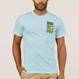Evolution Rules! 98.76% Chimp on American Apparel T-Shirt