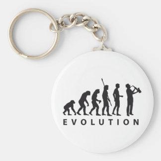 evolution saxophone keychains