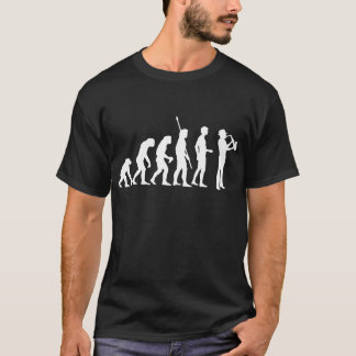 Evolution saxophone T-Shirt