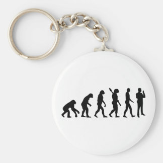 Evolution security guard keychain