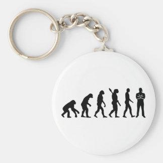 Evolution security guard keychain