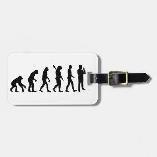 Evolution security guard luggage tag