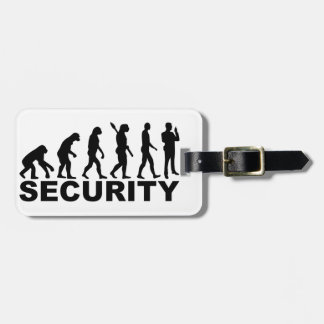 Evolution security luggage tag