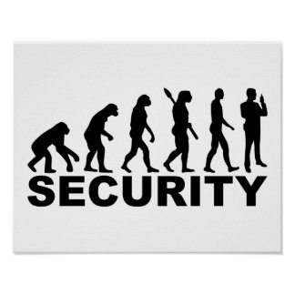 Evolution security poster