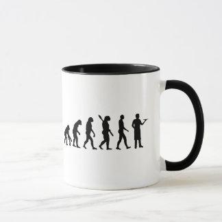 Evolution server mug
