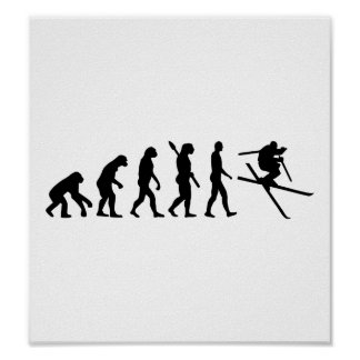 Evolution Ski Freestyle Poster