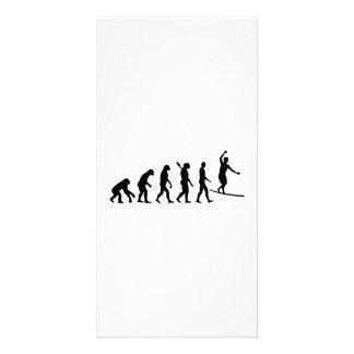 Evolution Slackline Custom Photo Card