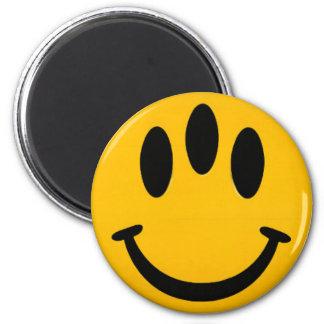 Evolution Smiley Magnet