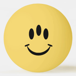 Evolution Smiley Ping Pong Ball