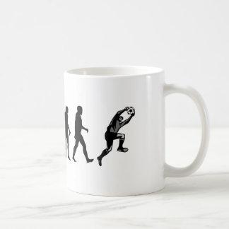 Evolution Soccer Goalie Coffee Mug