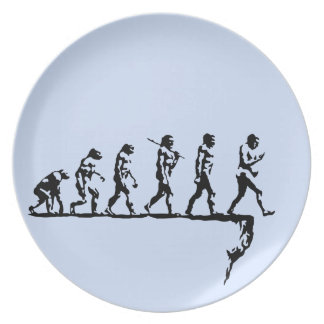 Evolution Social Extinction Plate
