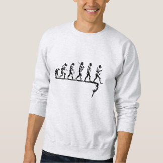 Evolution Social Extinction Sweatshirt