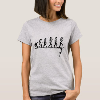 Evolution Social Extinction T-Shirt