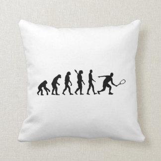 Evolution Squash Throw Pillow