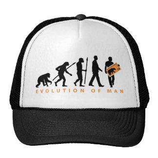 evolution stamp collector philatelist trucker hat