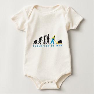 evolution storeman with more weightlifter baby bodysuit