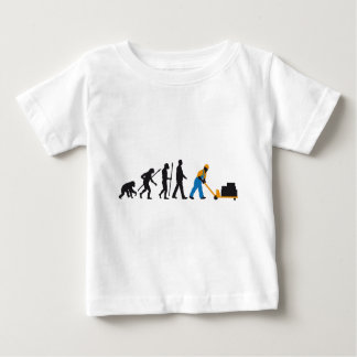 evolution storeman with more weightlifter baby T-Shirt