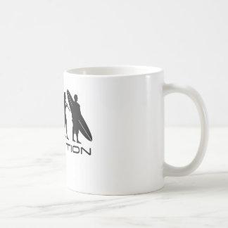 Evolution Surfer Classic White Coffee Mug