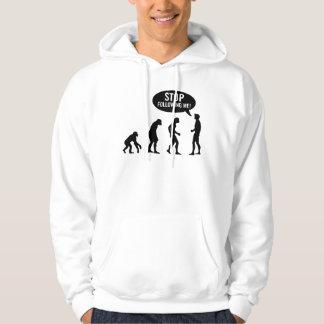 évolution sweatshirt à capuche