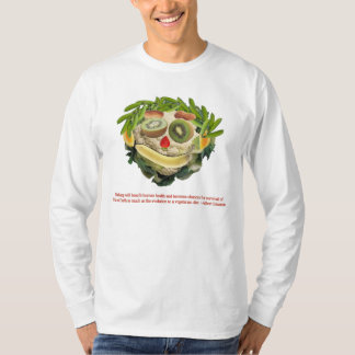 Evolution text, Veggie Person T-Shirt
