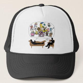 Evolution Therapist Psychologist Trucker Hat