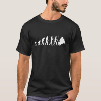 Evolution to motorcycle T-Shirt