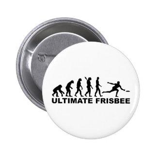 Evolution Ultimate Frisbee 2 Inch Round Button