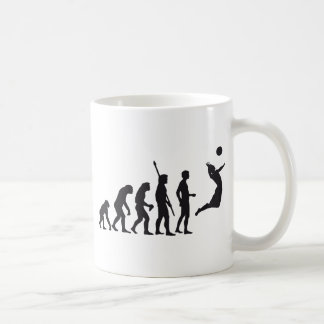 evolution volleyball coffee mug