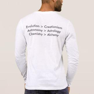 Evolution vs. Creationism Long Sleeve Shirt