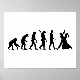Evolution Waltz Poster