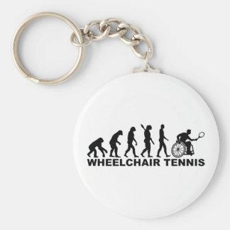 Evolution wheelchair tennis keychain