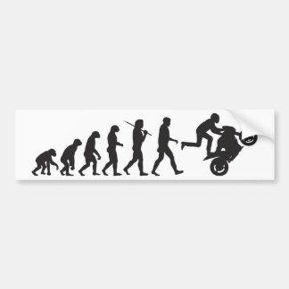 Évolution - Wheelie Autocollant De Voiture