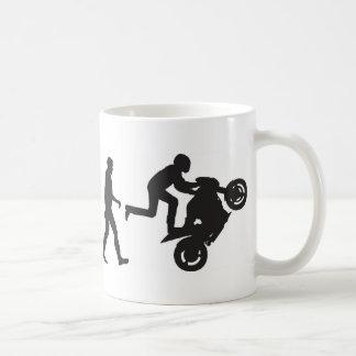 Evolution-Wheelie Coffee Mug