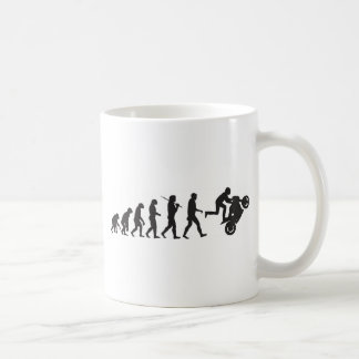 Evolution - Wheelie Coffee Mug