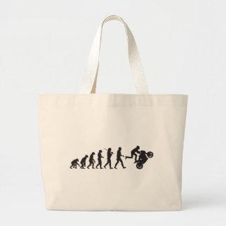 Evolution - Wheelie Jumbo Tote Bag