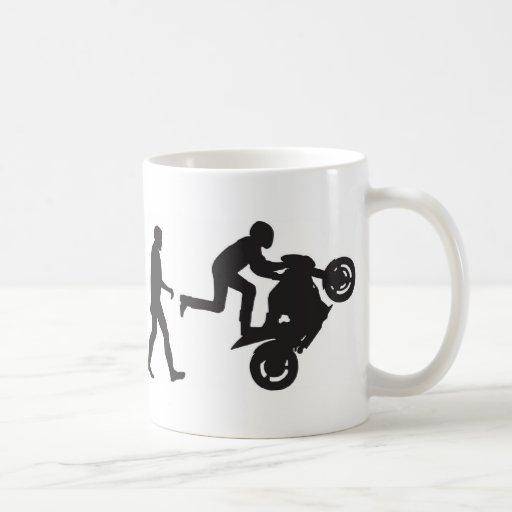 Evolution - Wheelie Mug