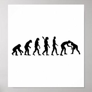 Evolution Wrestling Poster
