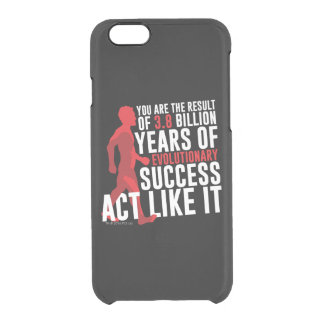 Evolutionary Success Clear iPhone 6/6S Case