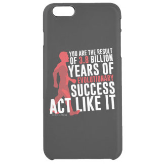 Evolutionary Success Clear iPhone 6 Plus Case