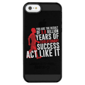 Evolutionary Success Clear iPhone SE/5/5s Case