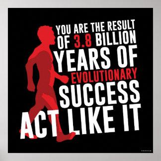 Evolutionary Success Poster