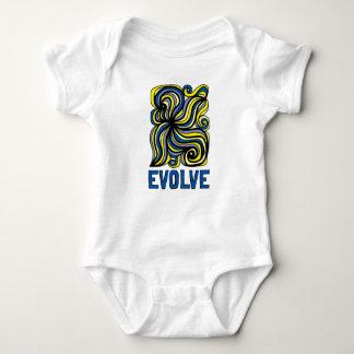 """""""Evolve"""" Baby Jersey Bodysuit"""